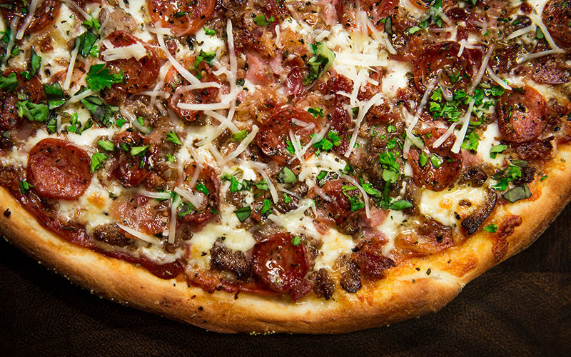 All Meat - Classic Pizza