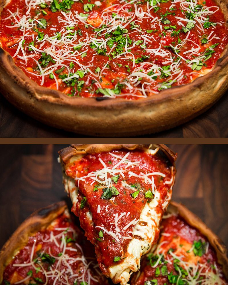 Chicago Deep Dish - Gourmet Pizza